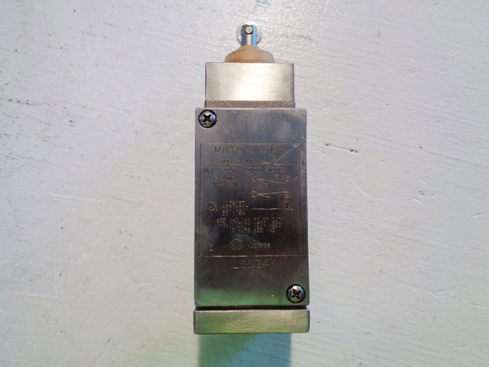 HONEYWELL HEAVY DUTY MICRO SWITCH LS2D4K