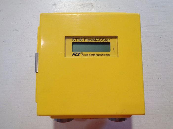 FLUID COMPONENTS ST98 FlexMASSter MASS FLOW METER ST98HT-1ANN0A2JEEF100