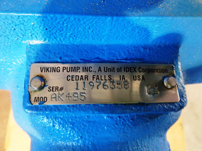 VIKING HORIZONTAL DIRECT DRIVE PUMP AK495