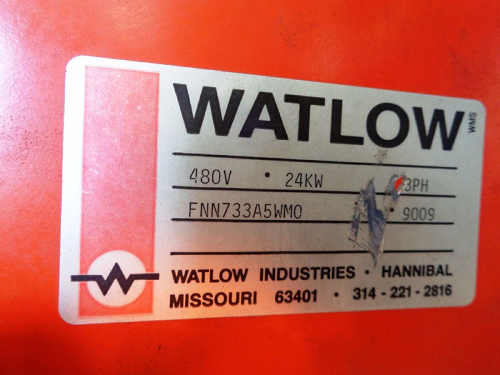 "WATLOW 5"" 150# IMMERSION HEATER FNN733A5WM0"