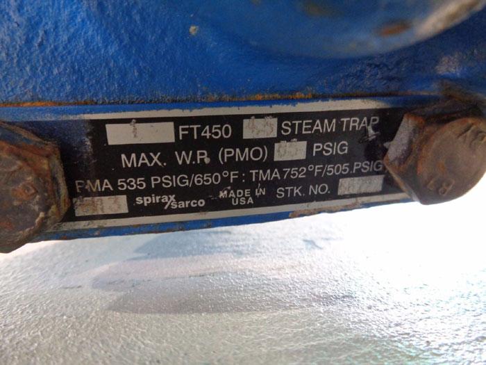"""SPIRAX SARCO 1"""" STEAM TRAP FT450 4.5 (66222)"""
