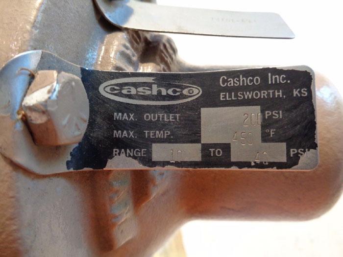 CASHCO POSR-2 PILOT OPERATED PRESSURE REDUCING REGULATOR WBG-BS27-72000000A