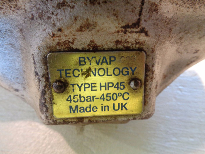 SPIRAX SARCO BYVAP - TYPE HP45 BI-METALLIC STEAM TRAP