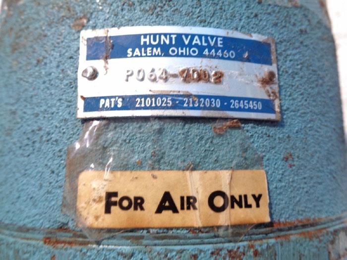 "HUNT 1"" 3-WAY DIAPHRAGM VALVE P064-7002"