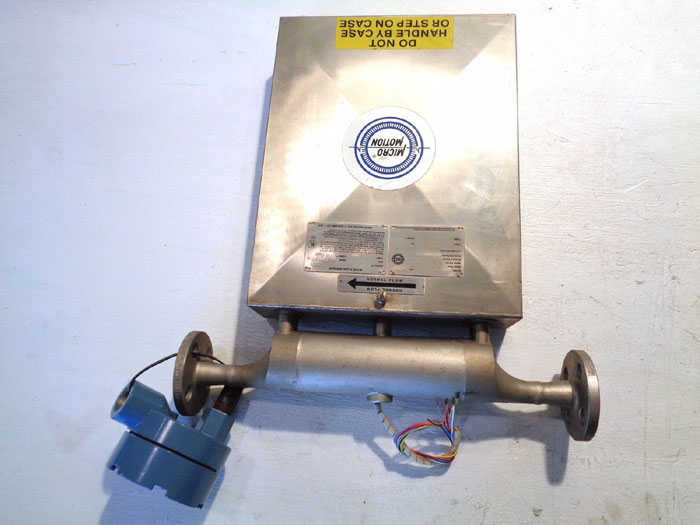 "MICRO MOTION 1/2"" 150# MASS FLOW SENSOR DS065S113"