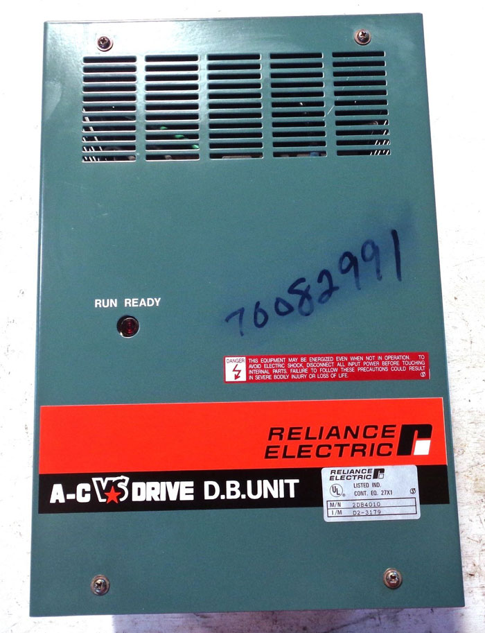 RELIANCE ELECTRIC AC VS DRIVE DYNAMIC BRAKE UNIT 2DB4010