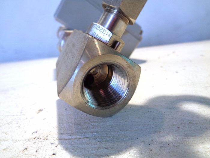 """BROOKS 1/2"""" MT3810 METAL TUBE VARIABLE AREA FLOWMETER 3810A12B1PAA1Q1"""
