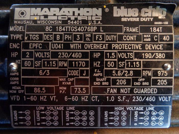 GORMAN-RUPP HIGH CAPACITY ROTARY GEAR PUMP  G-SERIES GHS1 1/2GH3B, W/ MOTOR