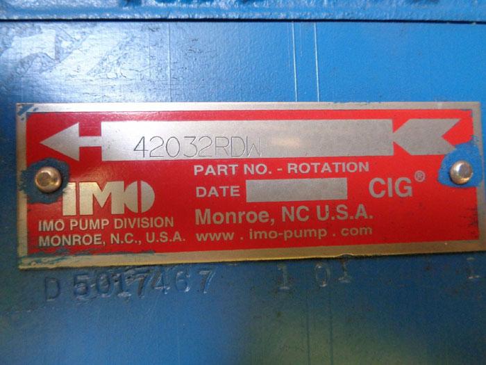 "IMO 1-1/4"" X 3/4"" PUMP 42032RDW"