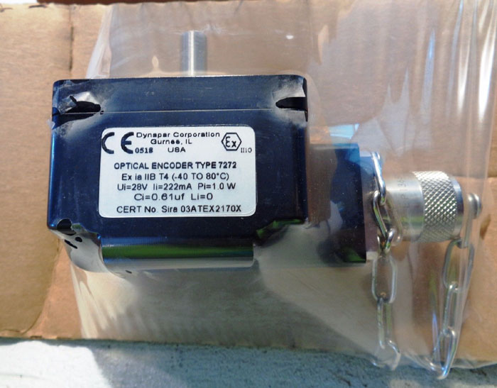 NORTHSTAR DYNAPAR HEAVY DUTY OPTICAL ENCODER, TYPE: 7272, MOD#: HD252060002XG05