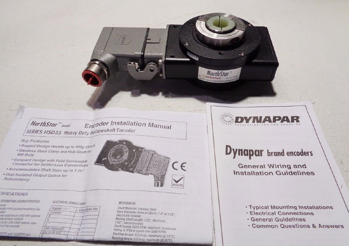 NORTHSTAR DYNAPAR HEAVY DUTY OPTICAL ENCODER HSD352048DC4