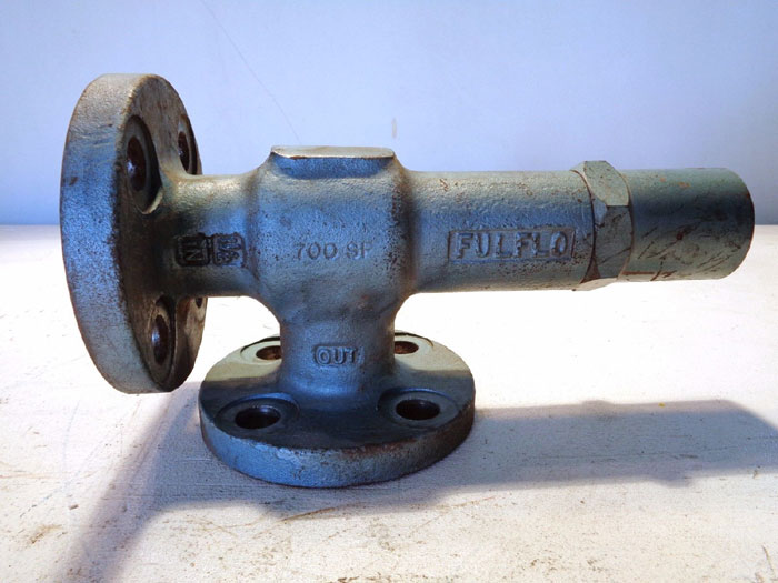 """FULFLOW V SERIES 1-1/2"""" 300# HYDRAULIC BYPASS RELIEF VALVE VSF-7RV-SS"""