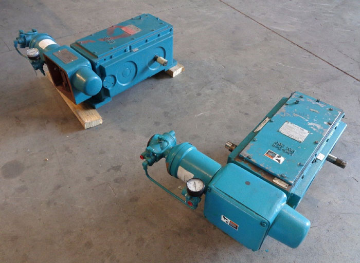 LOT OF (2) LINK-BELT REXNORD P.I.V. 200 VARIABLE SPEED DRIVE SAX