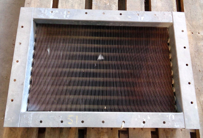 INDUSTRIAL HEAT TRANSFER INC. COOLING CORE #2817-7936-01