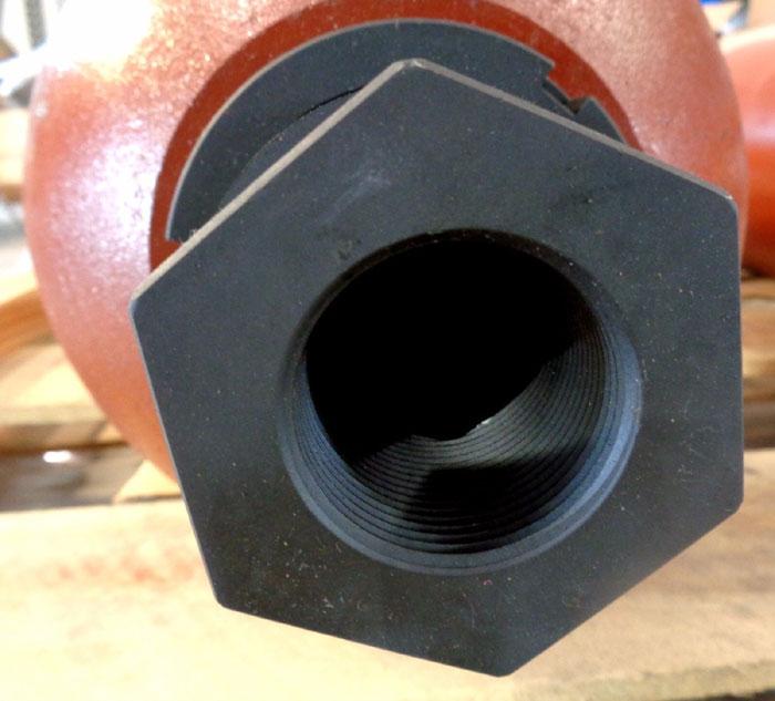 ACCUMULATORS INC. 5-GALLON, 3,000 PSI HIGH PRESSURE GAS BOTTLE #A5GA31001