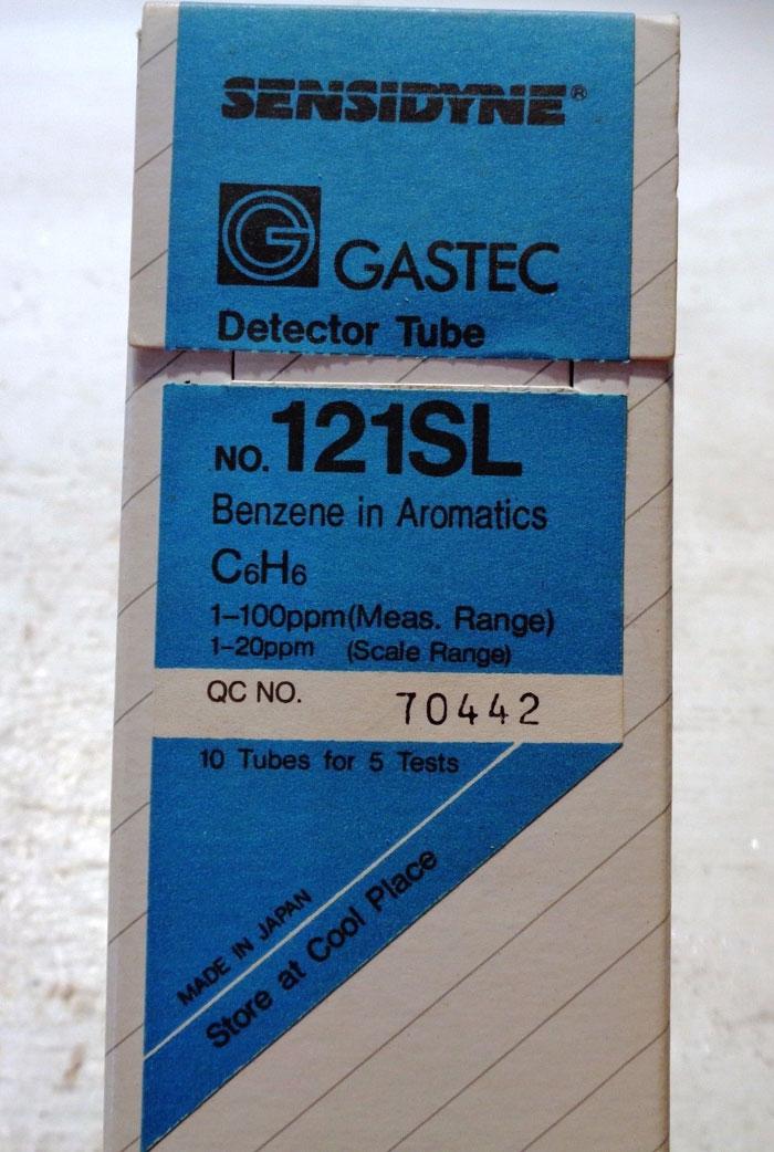 LOT OF (8) PACKS OF GASTEC SENSIDYNE DETECTOR TUBES: #131L, #121SL & #131La