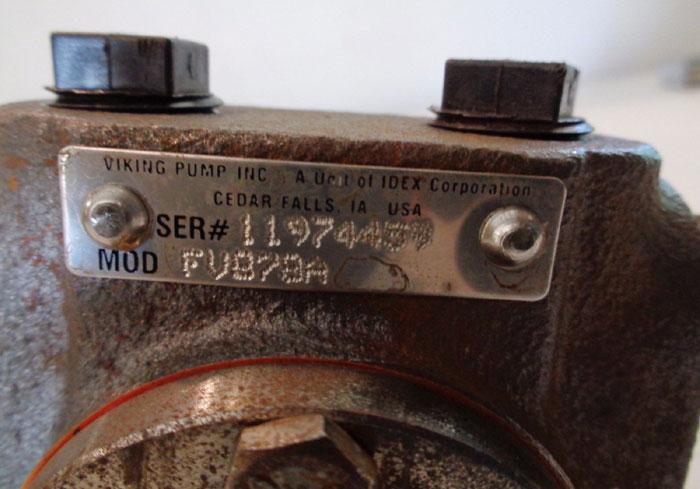 VIKING PUMP FV878A