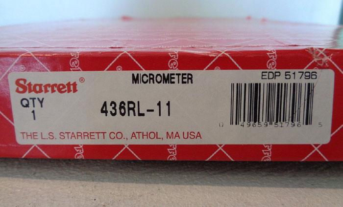 STARRETT MICROMETER #436RL-11