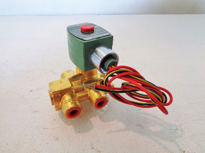 ASCO RED HAT 3-WAY SOLENOID VALVE 8321G003