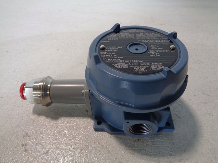 UNITED ELECTRIC PRESSURE SWITCH J120-173