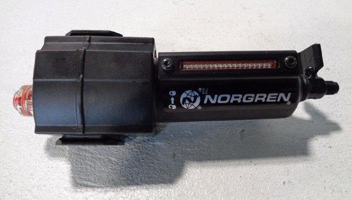 LOT OF (5) NORGREN EXCELON MICRO-FOG LUBRICATOR L73M-4AP-QDN