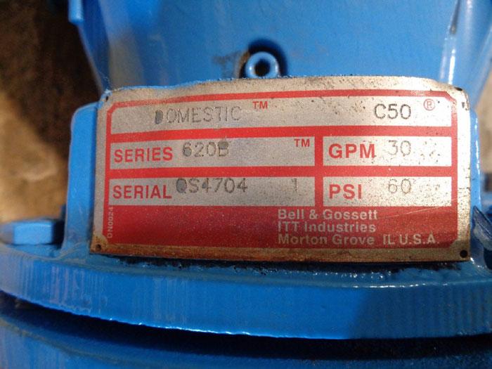 "BELL & GOSSETT ITT SERIES 620B DOMESTIC C50 1.5"" PUMP W/ MARATHON INVERTER MOTOR"