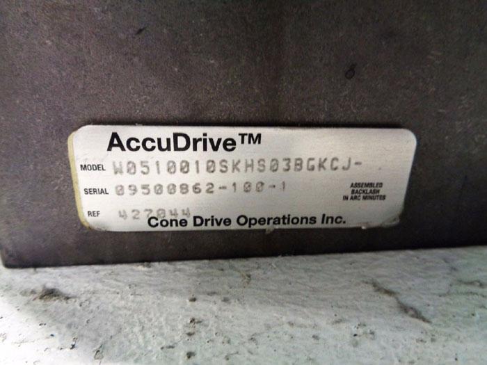 CONE DRIVE ACCUDRIVE RIGHT ANGLE GEARHEAD W0510010SKHS03BGKCJ