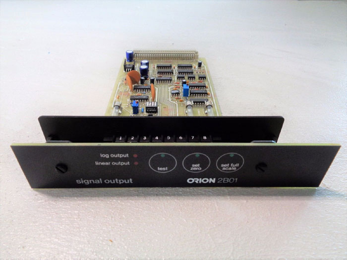 ORION 2B01 SIGNAL OUTPUT 802042 REV A