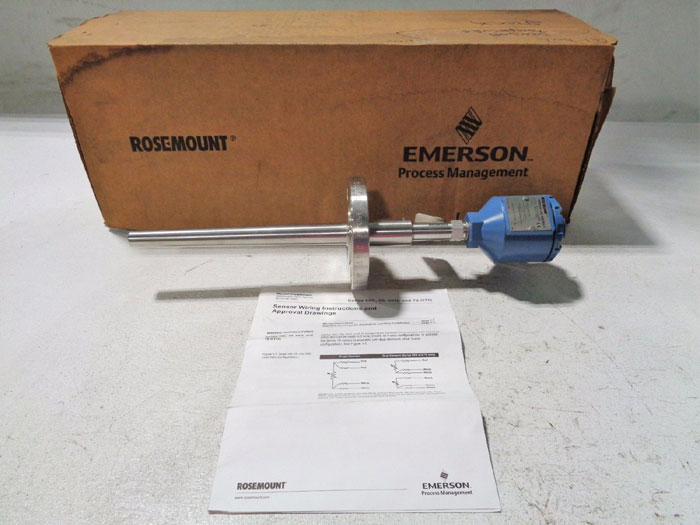 "ROSEMOUNT 1"" 150# SERIES 68 RTD TEMPERATURE ASSEMBLY 0068D21N00A095F60E5X8Q4Q8"
