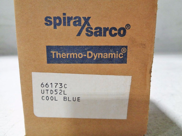 SPIRAX SARCO COOL BLUE UTD52L THERMO DYNAMIC STEAM TRAP w/ UNIVERSAL CONNECTOR