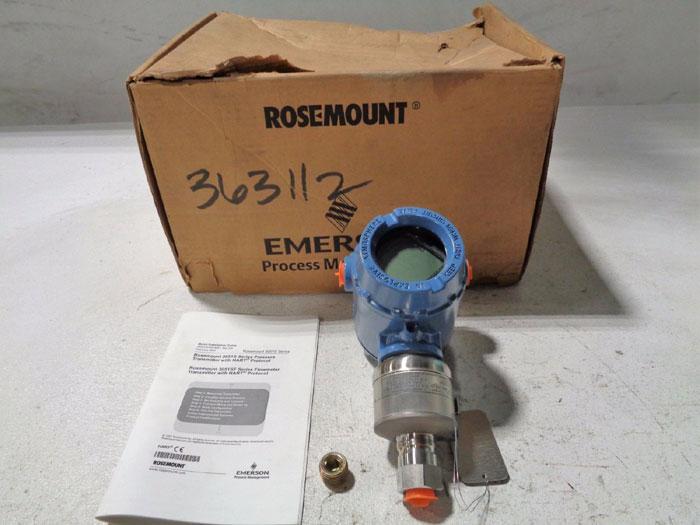 ROSEMOUNT 3051 PRESSURE TRANSMITTER 3051S2TG3A2E11A1AB4E5M5Q4