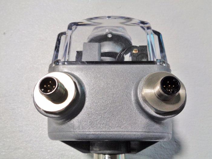 SAUNDERS CRANE EC PISTON ACTUATOR 33750 W/ STONEL PRISM SENSOR PM331BSXXRS-MCG05