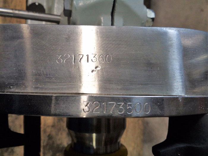 FRISTAM SANITARY CENTRIFUGAL PUMP FP742 190 W/ BALDOR WASHDOWN DUTY MOTOR 15 HP