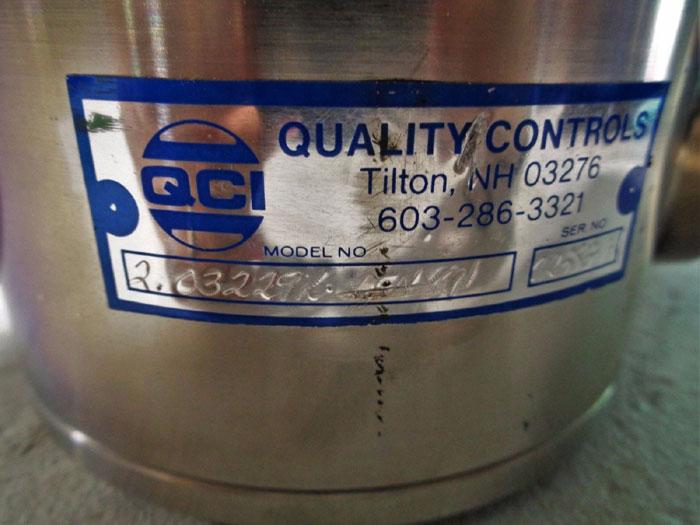 """QCI QUALITY CONTROLS 2"""" VALVE 2.03229L-VFNX01 W/ APOLLO ACTUATOR RPA2250-SR4"""