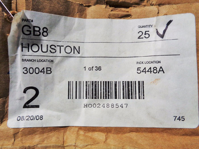 """DIXON GB8 3/4"""" BOSS GROUND JOINT FEMALE SPUD HOSE COUPLINGS - LOT OF (30)"""