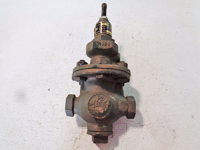"LESLIE LA-5 1/2"" PILOT & PISTON OPERATED REDUCING VALVE FOR AIR OR GAS SERVICE"