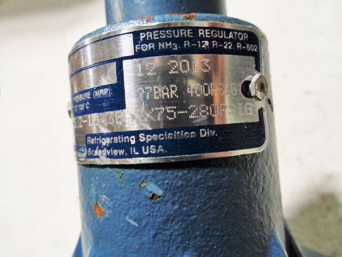 PARKER A2CK PRESSURE RELIEF REGULATOR 105559