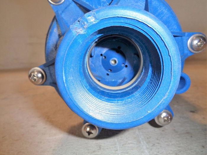 "SERFILCO SERIES M 1-1/2"" X 1"" MAGNETIC COUPLED PUMP P-51-6331 F W/ LEESON MOTOR"