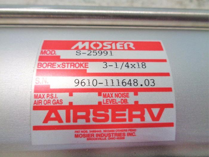 MOSIER AIRSERV AIR CYLINDER S-25991