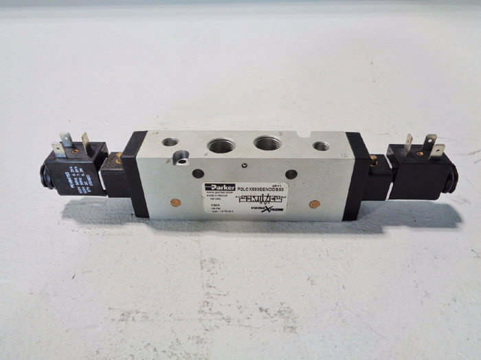 PARKER DOUBLE SOLENOID VIKING EXTREME VALVE P2LCX593EENDDB53