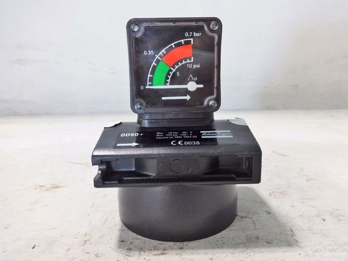 ATLAS COPCO LINE FILTER METER HEAD DD50+