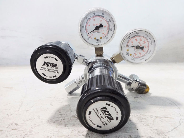 VICTOR COMPRESSED GAS REGULATOR HPS500-125-590-DK