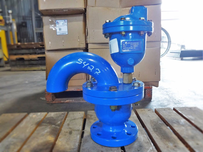 "ARI VALVES 3"" COMBINATION AIR VALVE FOR HIGH PRESSURE, PART#: 64, CAT#: D16"