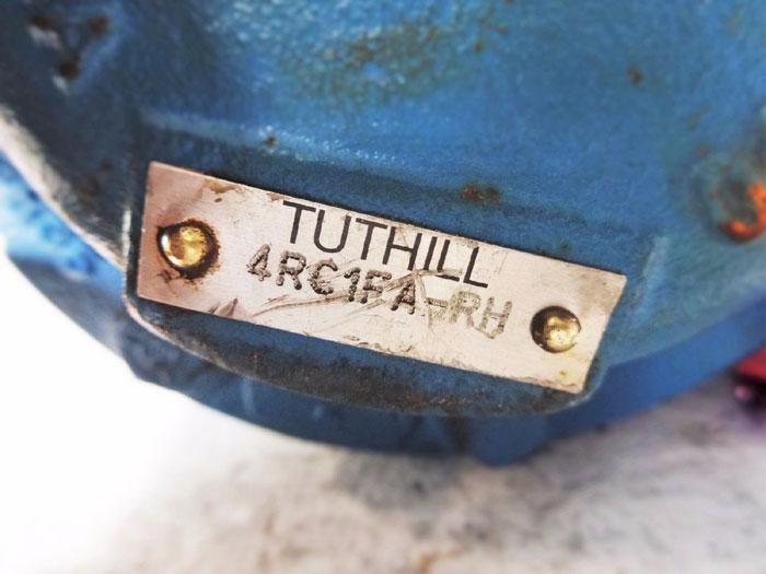 """TUTHILL LUBRICATION GEAR PUMP 1-1/2"""" x 1-1/2""""   4RC1FA-RH"""