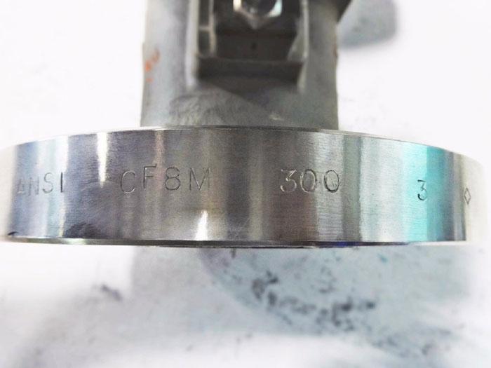 "YOKOGAWA YEWFLO 3"" 300# CF8M VORTEX FLOW METER YF-108"