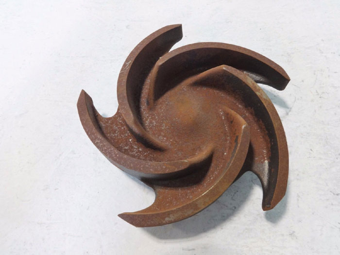 "GOULDS PUMP 5-VANE IMPELLER 8"" DIAMETER #53816"