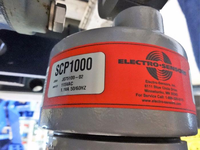 "FLO-TRONICS 8"" 150# ROTARY AIR LOCK VALVE W/ RELIANCE ELECTRIC MOTOR"