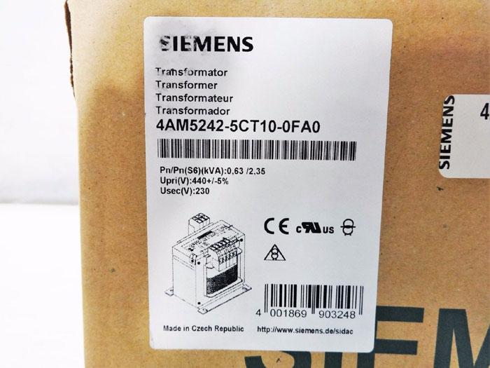 SIEMENS TRANSFORMER 4AM5242-5CT10-0FA0