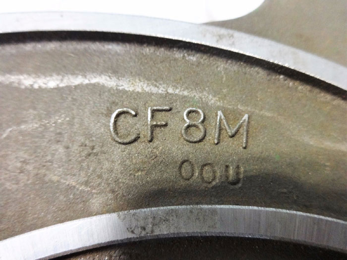GOULDS CF8M 6-VANE IMPELLER 101-500 (54612)