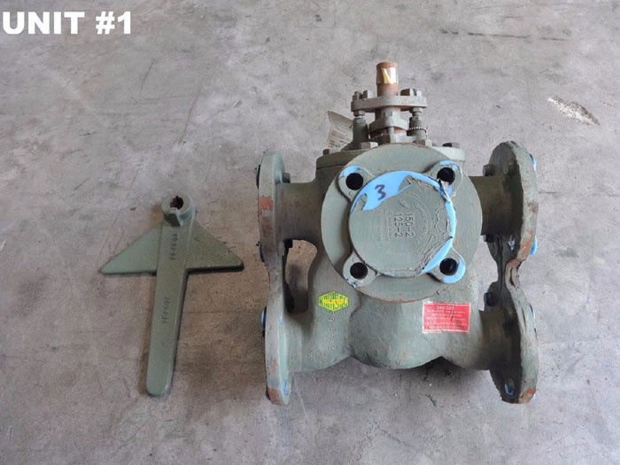 "KRAISSL 2"" 6-WAY TRANSFER VALVE 72-39AAFS"